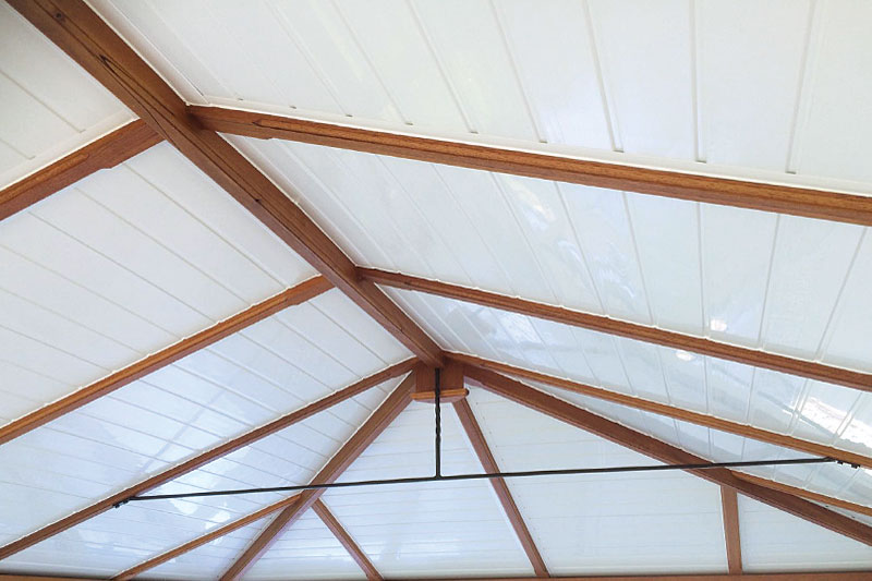 Conservatory Brown Beams